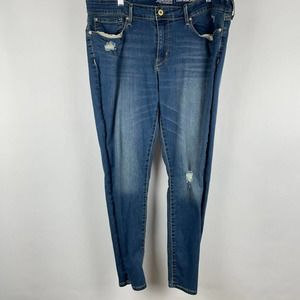 Levi Strauss Jeggings Distressed Women's Jeans